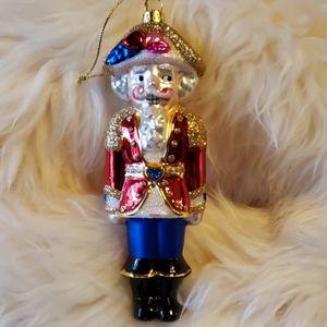 Other - Vintage Nutcracker Glass Ornament